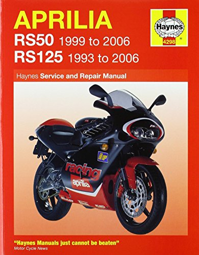 Aprilia RS50 and 125 Service and Repair Manual: 1993 to 2006 (Haynes Service and Repair Manuals) by Phil Mather (31-Aug-2006) ()