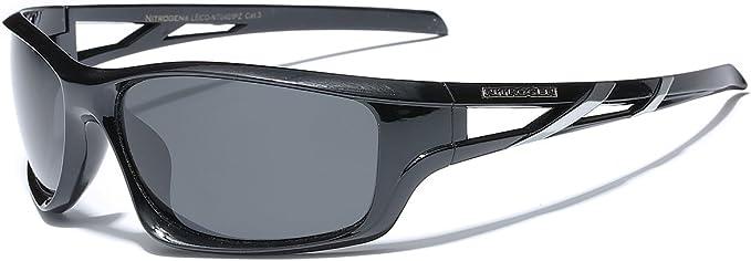 Polarized Oversized Sport Wrap Around Sunglasses