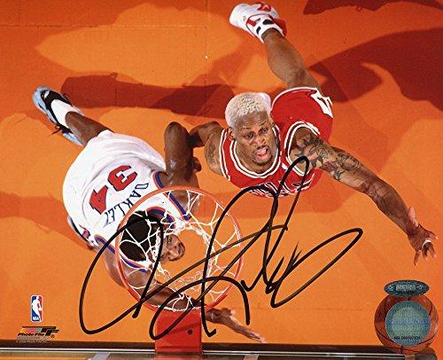 Dennis Rodman Signed Autographed Chicago Bulls 8x10 Photo TRISTAR COA Dennis Rodman Hand Signed