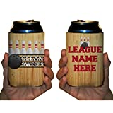 Custom Bowling Can Cooler- Clean Sweeps - Bowling League Can Coolies (96)