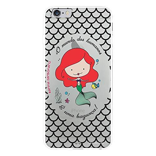Capa My Capa Branca Apple iPhone 6 Plus Princesa Ariel - TP99