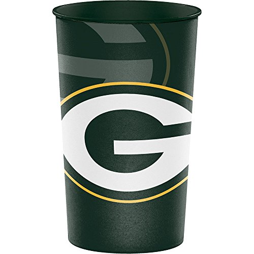 Creative Converting Green Bay Packers Souvenir Cups, 8