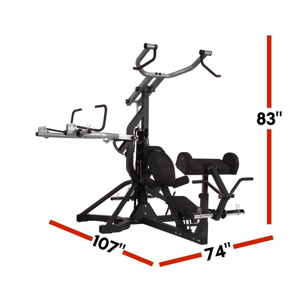 Amazon.com : body solid free weight leverage gym sbl460 : home