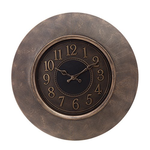 Kiera Grace-20 Wall Clock, Brown