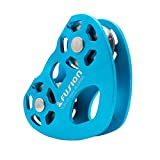 Fusion Climb Tesa Speed Aluminum Alloy Trolley Pulley Blue