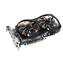 Gigabyte GV-N660OC-2GD GeForce GTX 660 OC 2GB GDDR5 PCI-Express 3.0 DVI-I/DVI-D/HDMI/Displayport SLI Ready Graphics Card
