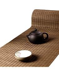 Tea Talent Handmade Natural Bamboo Sticks Tablemat Decor Kungfu Tea Set  Slat Mat Placemat Tea Table