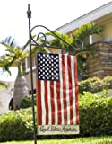 God Bless America Flag Decor Sign and Yard Stake