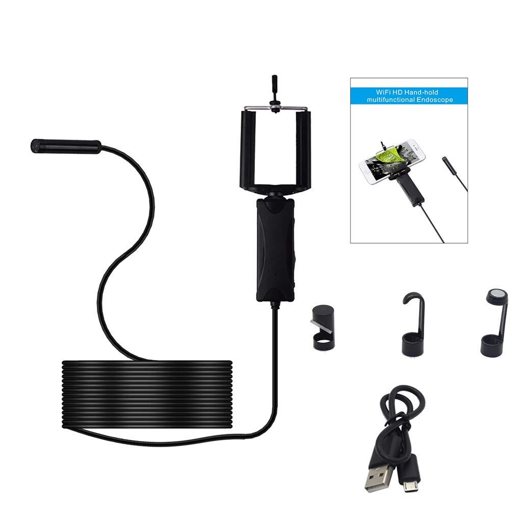 5M 8.5mm Cam/éra /étanche 2,0 m/égapixels Potensic 2 en 1 Cam/éra Endoscope num/érique avec 6 lumi/ères LED