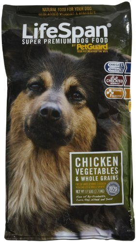 PetGuard LifeSpan Dry Dog - Fresh Chicken - 17lb