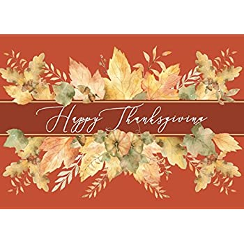 Amazon thanksgiving greeting card assortment a variety box th1802 thanksgiving greeting card m4hsunfo