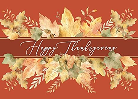 Amazon thanksgiving greeting card th1802 a message for thanksgiving greeting card th1802 a message for friends or associates that tells them how much m4hsunfo