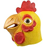 chicken beak mask - Halloween Novelty Deluxe Mask Molezu Costume Party Cosplay Latex Cock Mask Chicken Head Mask