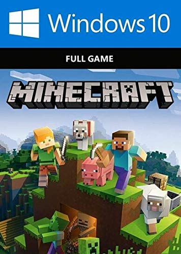 Minecraft Windows 10 Edition, PC, CD KEY, No Box, Activation Key Only, Region Free ()