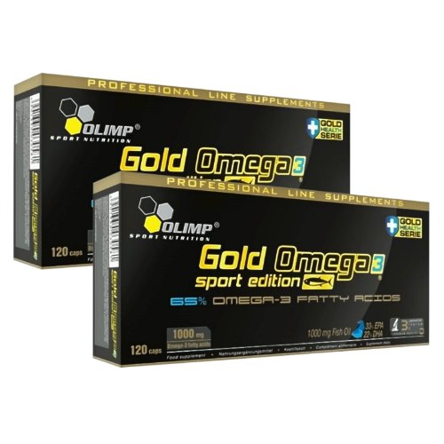 Olimp Omega 3 Sport Edition 2 x 120 Kapseln