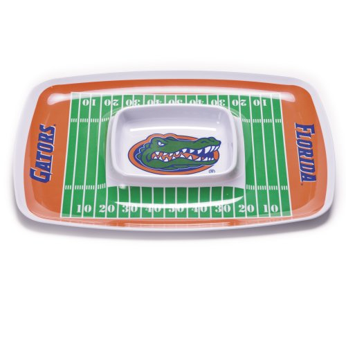 NCAA Florida Gators Melamine Chip and Dip Tray