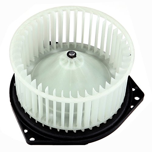 Scitoo ABS plastic Heater Blower Motor w/Fan HVAC Resistors Blowers Motors for 1998 Nissan Maxima 1996-2004 Nissan (Pathfinder Blower Motor)