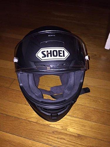 Shoei Racing Helmets - Shoei Solid X-14 Sports Bike Racing Motorcycle Helmet - Matte Black / Large by Shoei