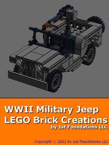 Amazon World War 2 Army Jeep Lego Brick Instructions By 1st