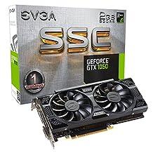 EVGA GeForce GTX 1050 SSC GAMING ACX 3.0, 2GB GDDR5, DX12 OSD Support (PXOC) (02G-P4-6154-KR)
