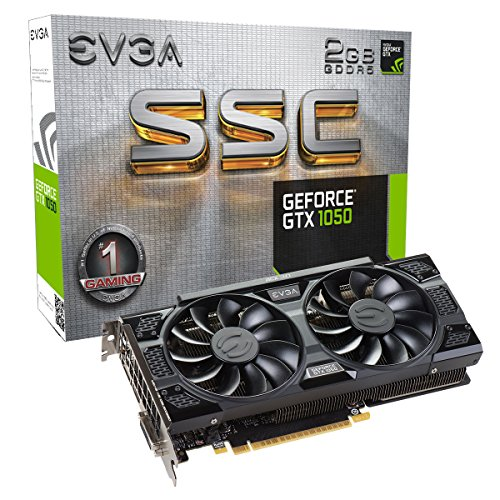 EVGA GeForce GTX 1050 SSC Gaming ACX 3.0, 2GB GDDR5, DX12 OSD Support (PXOC) Graphics Card 02G-P4-6154-KR (Gta 5 Out Of Game Memory Fix)