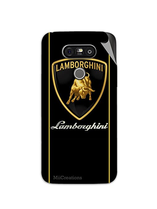 Miicreations Mobile Skin Sticker For Lg G5 Lamborghini Amazon In
