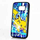 pokemon protective phone case - ( For Samsung S8+ / Galaxy S8 Plus ) Durable Protective Soft Back Case Phone Cover - A11389 Pokemon Pikachu