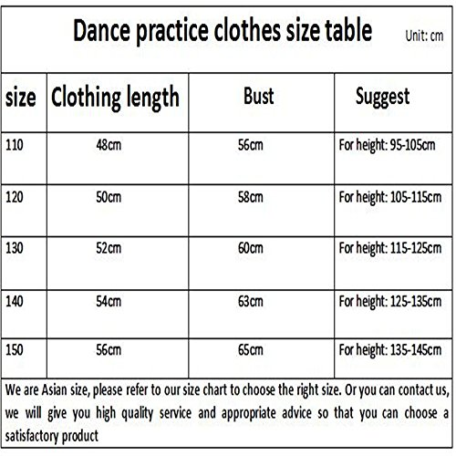 Dance clothes Costumes Rose ballet children's Dance training red children's clothing for Girls' Children dance Dress Gymnastic Summer suit qUA4fnZ