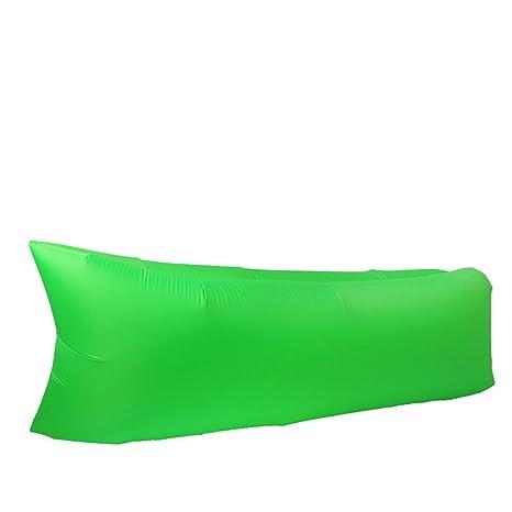 Popowbe Hamaca Hinchable para sofá y Piscina, con Revestimiento de Nailon y Poliuretano para la