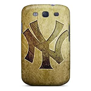 BNH4446CXSR Rockcases Awesome Case Cover Compatible With Galaxy S3 - New York Yankees Logo Hd