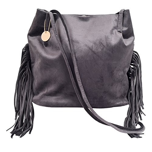 Linen Dogs Lwhb02017grey - Another Shoulder Bag Leather Women Size Only
