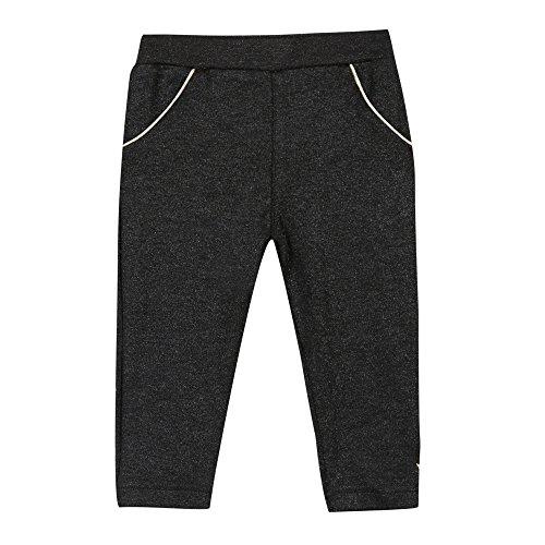 Uni 3 Fille Bébé Pantalon Pommes Noir noir qwHfwEF
