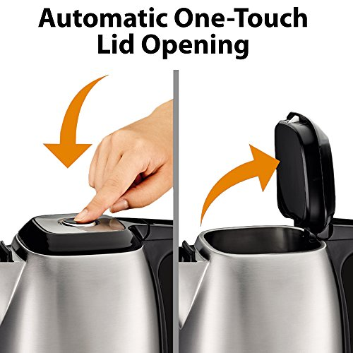 Electric Tea Kettles With Automatic Shut Off ~ Electric kettles krups bw savoy manual kettle
