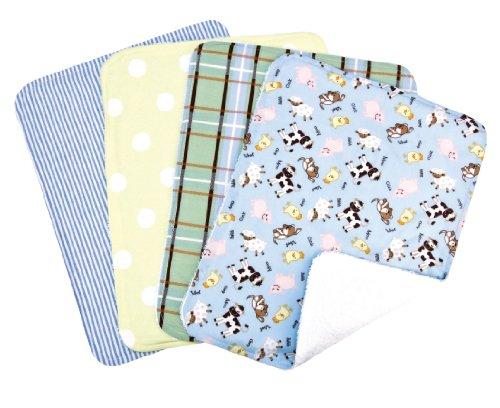 Trend Lab Burp Cloth Barnyard