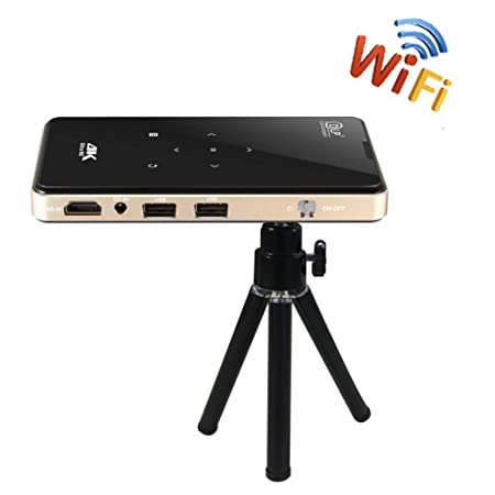 YTDDD Proyector de teléfono móvil, Mini proyector portátil ...