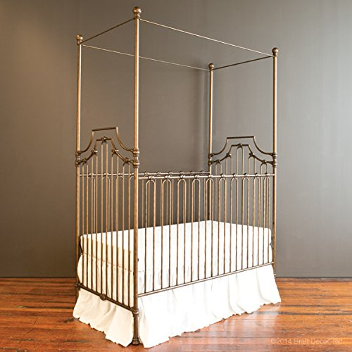 Bratt Decor parisian 9 in 1 crib vintage (1 Iron Convertible Crib)