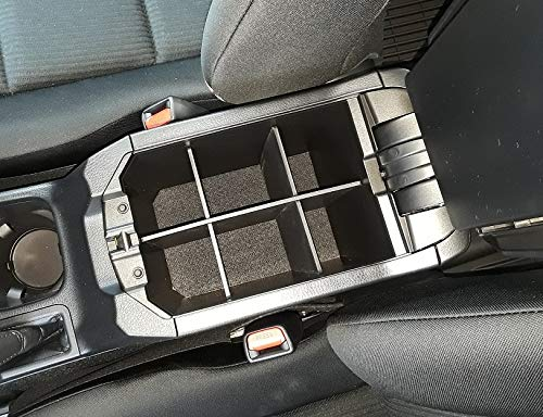 2013-2018 - Made in USA Salex Organizers SLX108 Center Console Organizer for Toyota RAV4 LE, XLE, Adventure ONLY Vehicle OCD