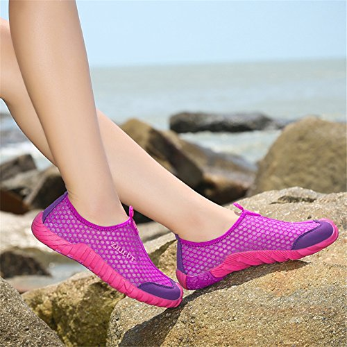 Slip Fires Quick Walking Breathable Loafers Womens Mesh Flats Casual Shoes Rose Drying Driving Lightweight Cloth on FFr84