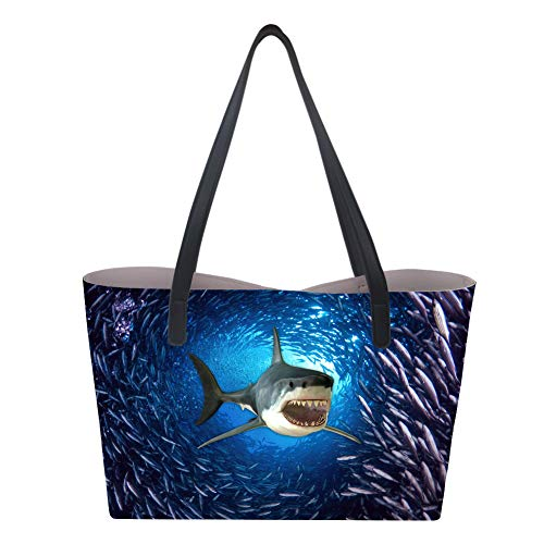 Sac Underwater à Shark Nopersonality L pour main femme FRAdwxY