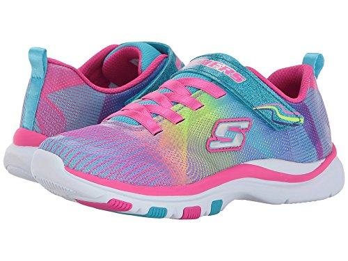 Girl Lite (Skechers Kids Girls' Trainer Lite-Dash N'Dazzle Sneaker,Multi, 13 M US Little Kid)