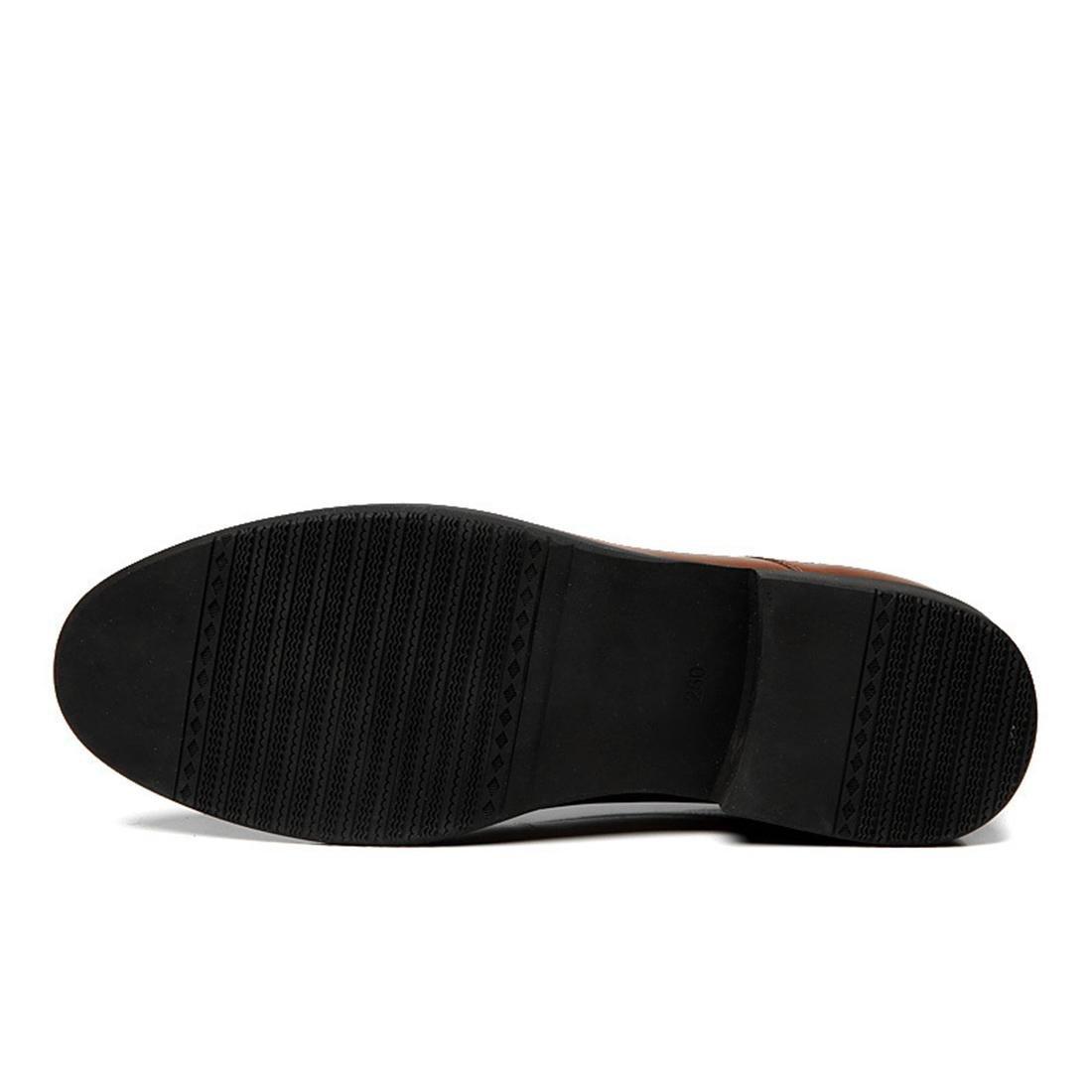 Herren Geschäft Formelle Kleidung Lederschuhe Flache Schuhe Schuhe Schuhe Werkzeugschuhe Schuhe erhöhen Rutschfest Dicker Boden EUR GRÖSSE 38-44 9ebe4f