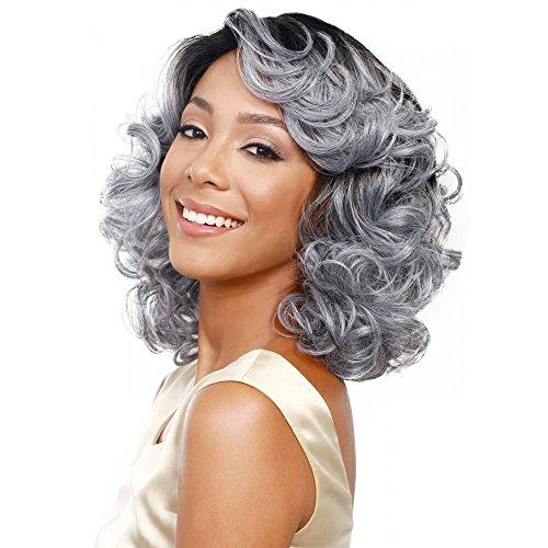 YX Si (Short Grey Wig)