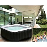 au enwhirlpool jacuzzi spa whirlpool 39 bubbling paradise 39 f r 6 personen garten. Black Bedroom Furniture Sets. Home Design Ideas
