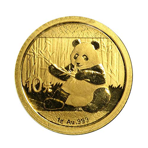 2016 CN -Present China Gold Panda (Random Year) 1 Gram Brilliant -