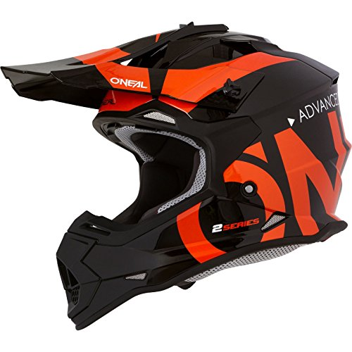 O'NEAL   Motocross-Helm   MX Enduro   ABS-Schale, Sicherheitsnorm ECE 22.05, Lüftungsöffnungen für optimale Belüftung…