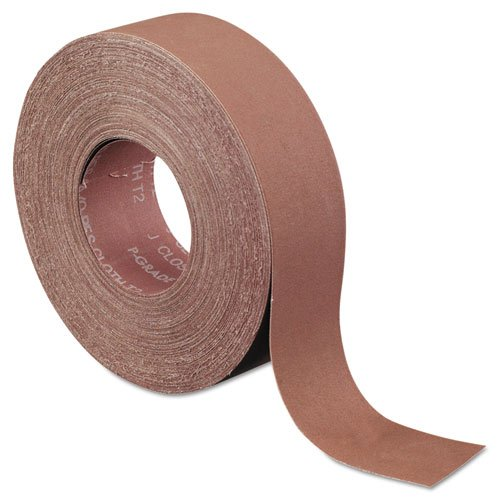 Norton K225 Metalite Abrasive Roll, Cloth Backing, Aluminum Oxide, 2'' Width x 50yd Length, Grit P400 by Norton Abrasives - St. Gobain
