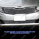 kia optima sx - APS Fits 2011-2013 Kia Optima SX/EX/Optima Billet Grille Grill Combo #K61126A