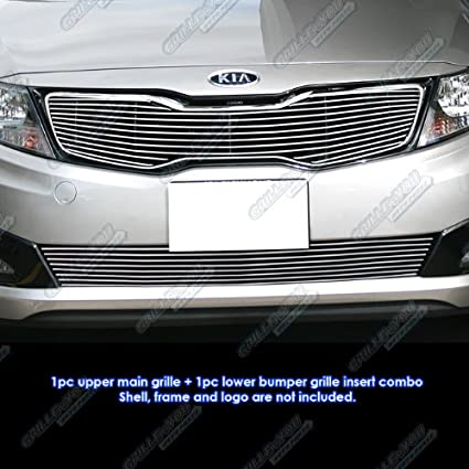 Amazon Com Aps Fits 2011 2013 Kia Optima Sx Ex Optima Billet Grille