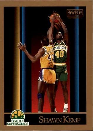 db12dbfccd8c2 Amazon.com: 1990 SkyBox Basketball Rookie Card (1990-91) #268 Shawn ...