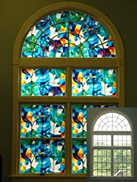 Dove Stained Glass, Decorative, Privacy, Window Film - (36\